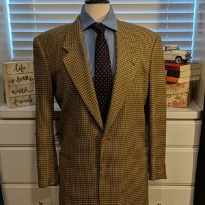 Armani Plaid Sports Coat
